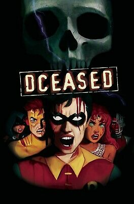 Dceased #4 (Of 6) Card Stock Horror Variant - Dc - Release Date 07/08/19