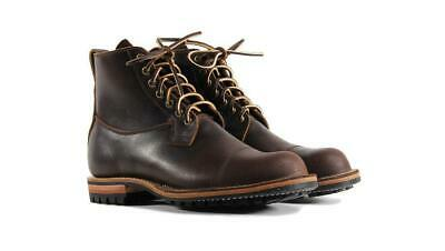 Viberg The Country Derby Boots 11 British Hunting Hoween Waxed Flesh