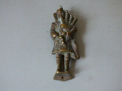 Brass Scotland Scottish Highlander Dance Architectural Doorknocker Free Uk P+P