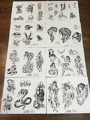 Tattoo Flash Pat Picture Machine 70 SHEETS!!!