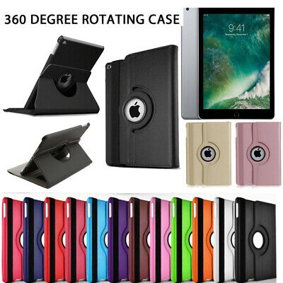 360 Rotating Folding Folio Leather Stand Case Cover for iPad Air 1st Generation