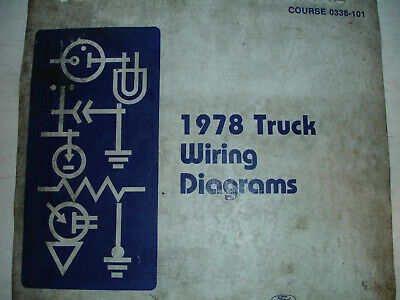 1978 ford econoline van electrical wiring diagrams service schematic manual  shop
