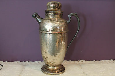 Vintage Silverware Products Ep Copper Bm Mounts Carafe 148
