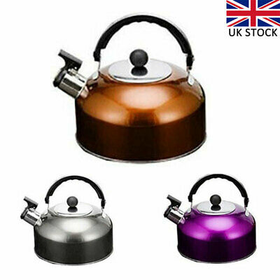 3L Stainless Steel Whistling Kettle kitchen/Home Camping Gas Hob