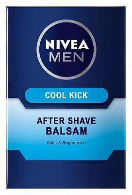 6 x Nivea Men Cool Kick Aftershave Balsam kühlend und regenerierend 100ml