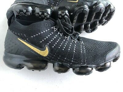 Nike Air VaporMax Flyknit Men's Size 9.5 Color Black Used