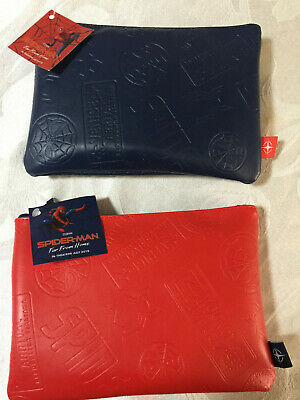 United Airlines Spider-Man Far From Home Limited Edition Amenity Kit Red & Blue