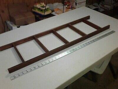 Primitive Country Decorative Three Foot Ladder