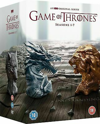 Game of Thrones:The Complete Seasons 1-7 (DVD 2017 34-Disc Box Set)1 2 3 4 5 6 7