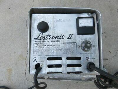 LESTER ELECTRICAL 09611 01 Charger 36V 25A Manual