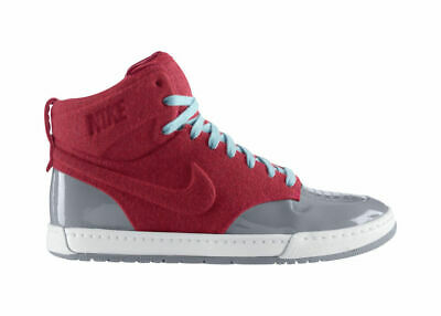 Rare Nike Womens Girls Air Royalty Mid Top Trainers Uk 4 Vgc Solar Red Stealth