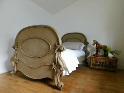 Antique Victorian single bed