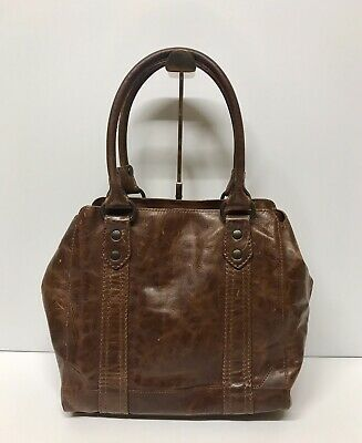 5e4e1b060 NEW FRYE MELISSA Tote Antique Pull Up Leather (Cognac) NWT $398 ...