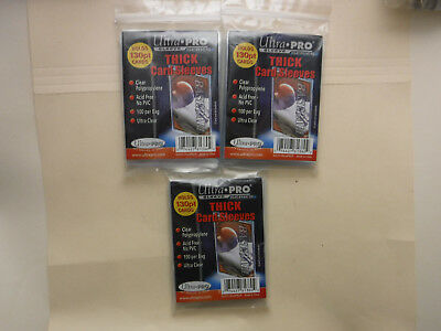 300 ULTRA PRO THICK 130pt SLEEVES Quick & Free Shipping