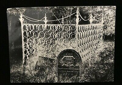 Lloyd Ullberg New Orleans Fine Art Photographer TOMBSTONE CAGE CHAIN LINK FENCE