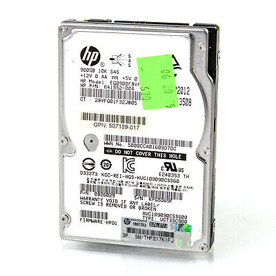 HITACHI (HUC109090CSS600) 900GB SAS-2 (SFF) 6Gb/s 10K Hard Drive HDD