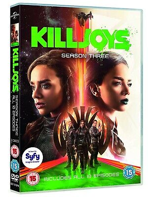 NEW and SEALED Killjoys: Season 3 [DVD] [2018] Region 2. 2 disc set.