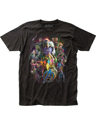 NEW NWT Avengers End Game Character Photo T-Shirt, Officially Licensed