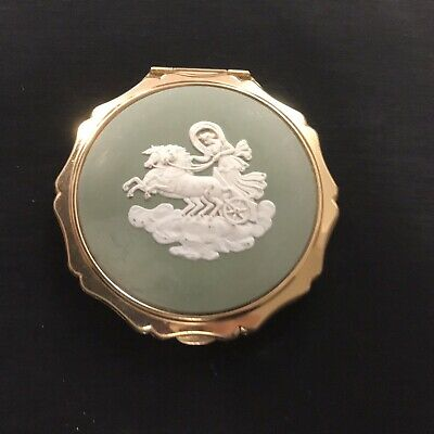 Vintage Antique Wedgwood Stratton Powder Compact