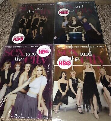 SEX AND THE CITY DVDs SEASONS 1-4 BRAND NEW SEALED