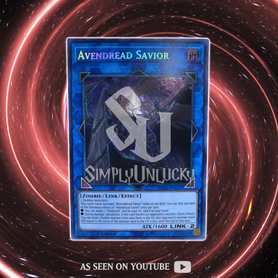 Avendread Savior - BLHR-EN045 - Secret Rare - 1st Edition | YuGiOh
