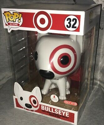 Funko Pop! Ad Icons Target Bullseye 10 Inch Exclusive 32