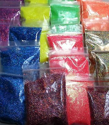25g Iridescent Glitter Dust Powder For Nail Art&Make Up UV Acrylic Crafts Newly