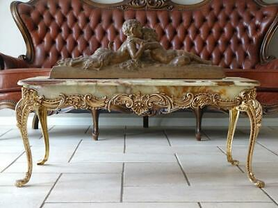 Antique Vintage French  Louis XV Coffee  Sofa Entrance Table
