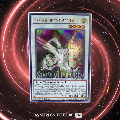 Herald of the Arc Light - BLHR-EN085 - Ultra Rare - 1st Edition | YuGiOh