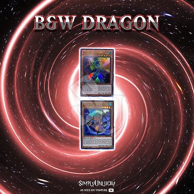 BLACK AND WHITE DRAGON DECK CORE | BLHR WYVERBURSTER COLLAPSERPENT YuGiOh