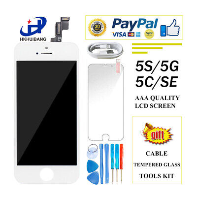 For iPhone 5 5S 5C LCD Touch Screen Display Digitizer Replacement Full Assembly