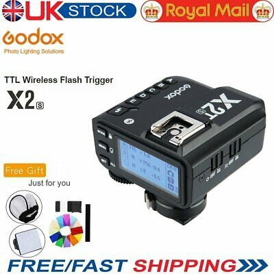 UK Godox X2T-S TTL 2.4G Wireless Flash Trigger Bluetooth Connection For Sony