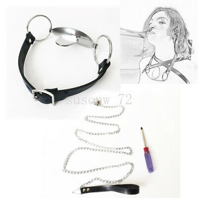 New Bondage Nose Clamp Hot Hook with Leading Leash / mouth tongue Gag Restraint