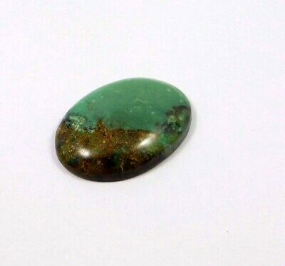 40 Cts. 100% Natural Chrysophrase Loose Cabochon Gemstone ANG21476