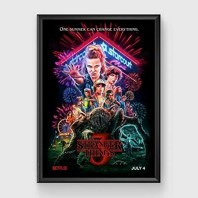 Stranger Things 3 TV Series Poster (A3) 11.7 x 16.5