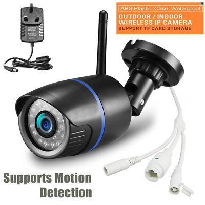1080P HD Network Cam Wireless WIFI IP Camera CCTV In/Outdoor Security IR Night
