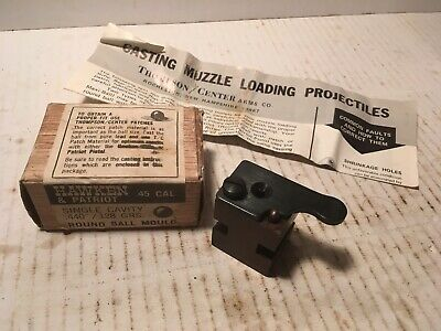 THOMPSON CENTER BULLET Mold 50 cal  370 gr  Maxi Ball
