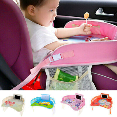 Safety Folding Waterproof Baby Car Seat Table Stroller Tray Kids Play Travel