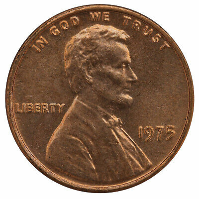 1975 Lincoln Memorial Cent BU Penny US Coin