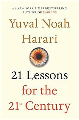 21 Lessons for the 21st Century **Hardcover** BRAND NEW