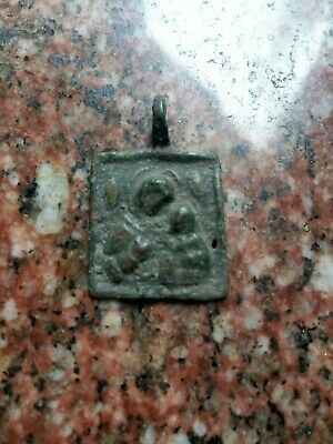 Ancient bronze icon Vikings, Kievan Rus XI-XIII century AD