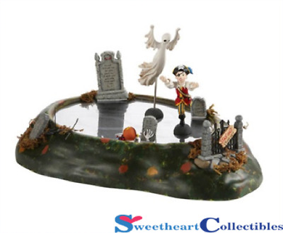 Dept 56 Halloween Village Ghost In The Graveyard Retired 4020260