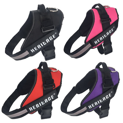 Power Safety Deluxe No-Pull Dog Harness Strong Pet Padded Adjustable Puppy Lead