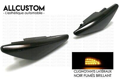 2 SMOKED SIDE MARKER LIGHTS REPEATERS LED TURN SIGNAL for BMW X5 E70 2006-2010 M