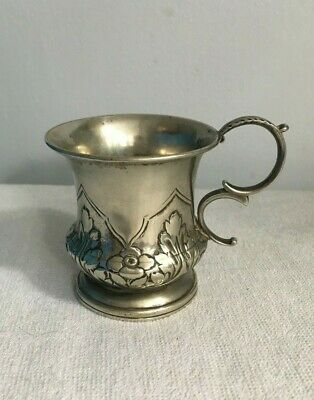 French silver wine cup 18th century antique very rare