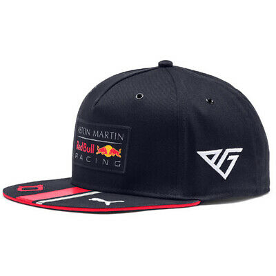 Aston Martin Red Bull Racing F1 Pierre Gasly 10 Flat Peak Cap Official 2019