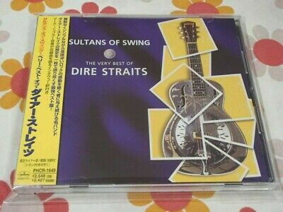 DIRE STRAITS sultans of swing Japan CD OBI PHCR-1649 MARK KNOPFLER