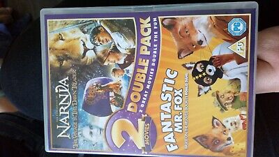 The Chronicles Of Narnia / Fantastic Mr Fox (2-Disc Set) DVD New & Sealed