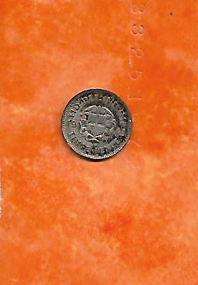 Great Britain, 3 pence, 1943 (KM 848), 50% silver