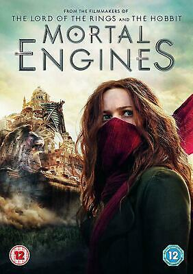 Mortal Engines DVD. New and sealed. Region 2 DVD